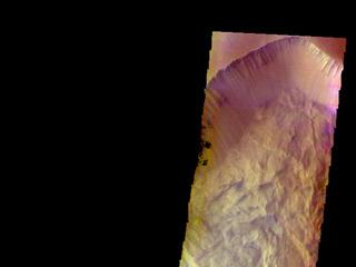 Ophir Chasma - False Color