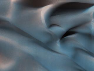 Hanging Sand Dunes within Coprates Chasma
