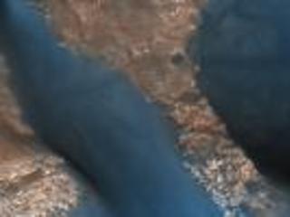 Active Dunes in Wirtz Crater