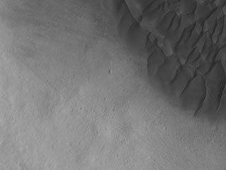 Halley Crater Dunes