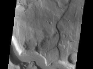 Claritas Fossae Channel
