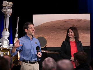 Celebrating a Mars Rover