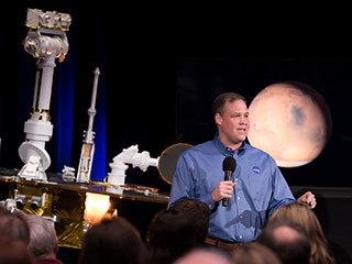 NASA Administrator and Mars