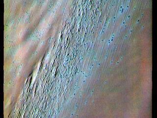 Chasma Boreale - False Color