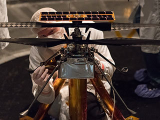 Handling Mars Helicopter