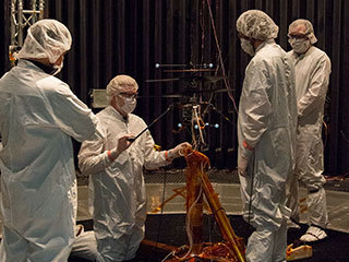 Mars Helicopter Team Prepares for Test