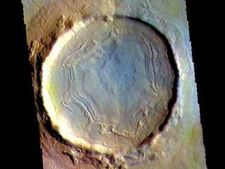 Northern Crater - False Color