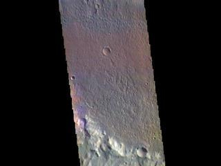 Briault Crater - False Color