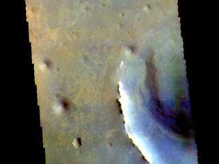 Endeavour Crater - False Color