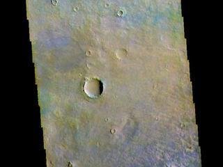 Noachis Terra - False Color