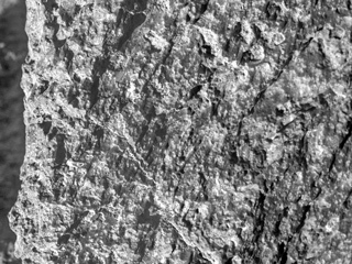 "Close up of a Martian rock nicknamed ""Jornada del Muerto"""