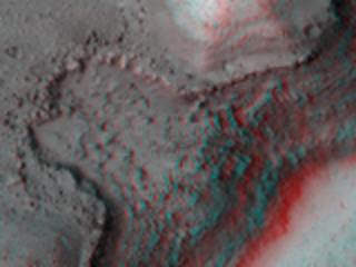 Lava Coating, Flood-Carved Kasei Valles