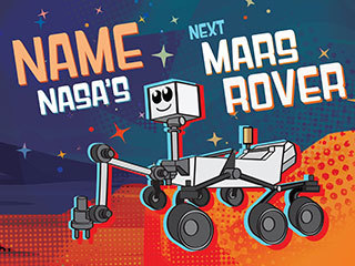 NASA's Next Mars Rover (Cartoon)