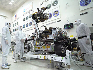 NASA's Mars 2020 Rover Robotic Arm Is on the Move