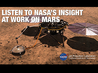 NASA's InSight lander placed a seismometer on the Martian surface to study marsquakes.