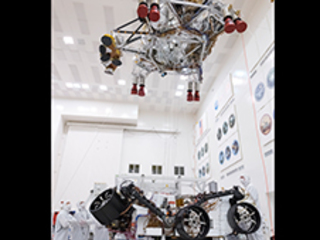 NASA Mars 2020 Rover Separation Test