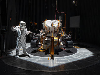 A Light Touch Required for NASA's Mars 2020 Rover