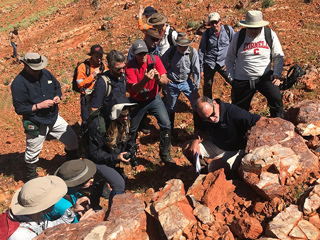NASA and ESA scientists study stromatolites, the oldest confirmed fossilized lifeforms on Earth, in the Pilbara region of North West Australia.