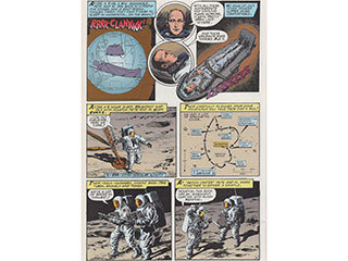 A graphic novel chronicling the historic flight of Apollo 12 is available for download.