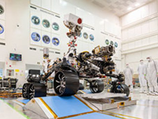 Mars 2020 Rover Is Roving