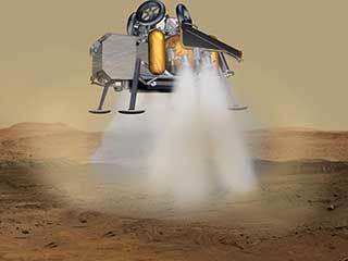 Mars Sample Return Lander Touchdown (Artist's Concept)
