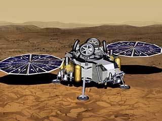 Mars Sample Return Lander With Solar Panels Deployed (Artist's Concept)