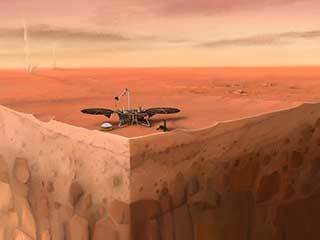 A Cutaway of InSight on Mars