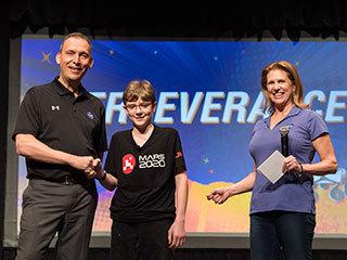 NASA Congratulates Rover Naming Contest Winner