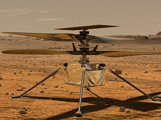 Learn more about the Mars Helicopter
