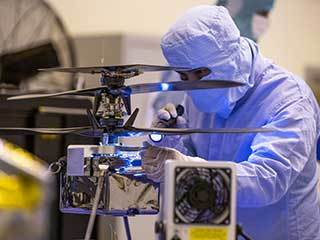 Inspecting NASA's Mars Helicopter