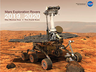 2019-2020 Mars Calendar