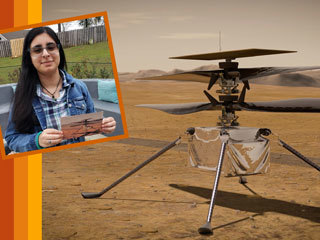 Vaneeza Rupani and the Mars Helicopter