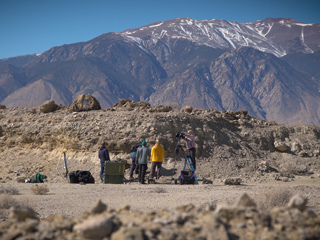 Perseverance Field Team Sets up in Nevada Desert