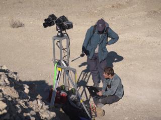 Cameras in the Nevada Desert