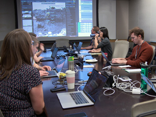 Scientists Training for Mars Rover Operations
