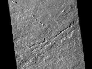 Olympus Mons Lava Flows