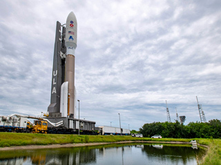 Roll to Pad: Atlas V and Mars 2020