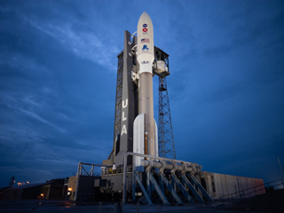 Atlas V in the Spotlight Before Perseverance Launch