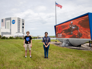 Naming Contest Winners at Kennedy Space Center