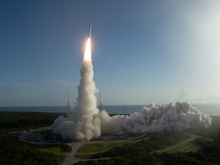 Mars 2020 Perseverance Launches Off Florida Coast