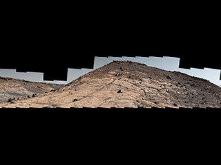 amplio panorama de Marte