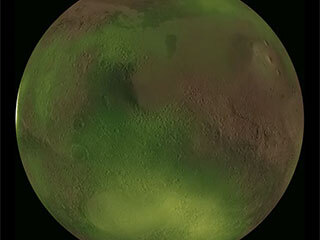 Mars Nightglow Animation from MAVEN Observations