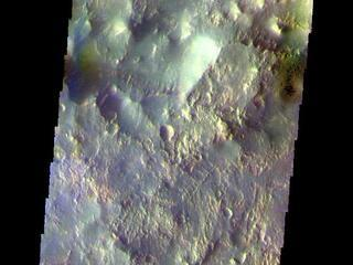 Virrat Crater - False Color