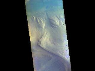 Candor Chasma - False Color