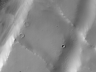 Machine Learning Spots a Cluster of Mars Craters: Context Camera's View