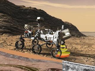 RIMFAX at Work on NASA's Perseverance (Illustration)