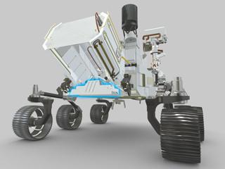 RIMFAX Location on NASA's Perseverance Rover (Illustration)