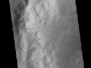 Crater Rim Channels