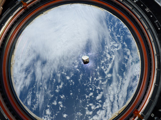 Supercam's Mars Meteorite Aboard the ISS