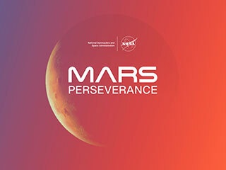 Mars Perseverance Rover (Gradient Illustration)
